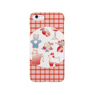毛糸のおしゃれシリーズ Smartphone cases