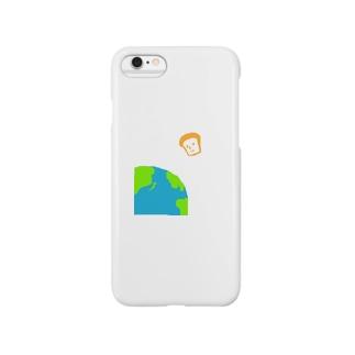 地球外生命パン Smartphone cases