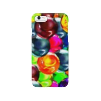 ビー玉いっぱい(ビビット) Smartphone cases