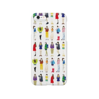 colorful girl Smartphone cases