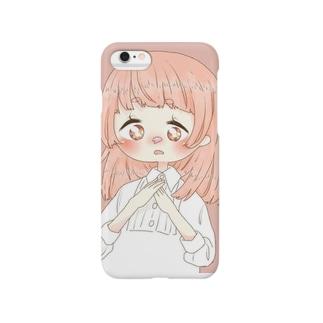 桜の季節(ピンク) Smartphone cases
