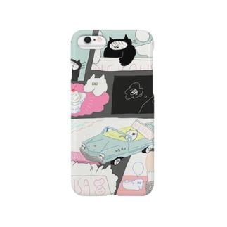 偽装出社のnekousa Smartphone cases