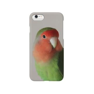 ラブバード Smartphone cases
