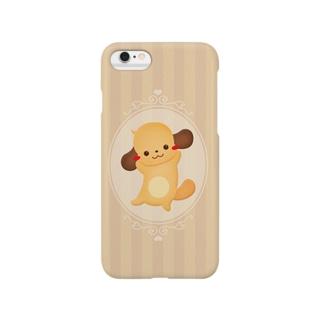 ミニチュアダックス・クッキー風 Smartphone cases