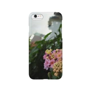 咲き始めの紫陽花 Smartphone cases
