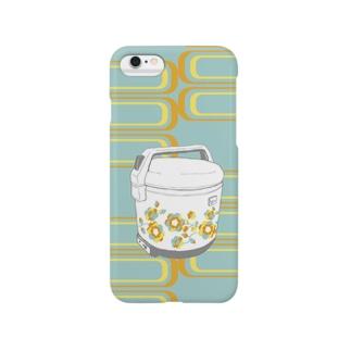花柄炊飯ジャー(訂正版) Smartphone cases