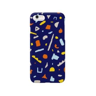 日々のかたち_(オレンジ×紺) Smartphone cases