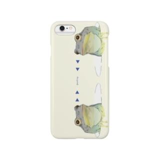かえる 黄 Smartphone cases