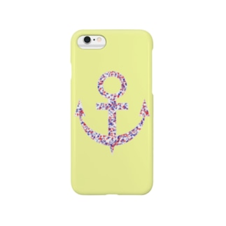 Anchor(Yellow) Smartphone cases