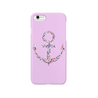 Anchor(Pink) Smartphone cases