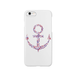 Anchor(White) Smartphone cases