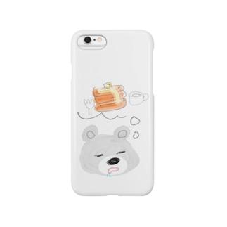 甘党くま Smartphone cases