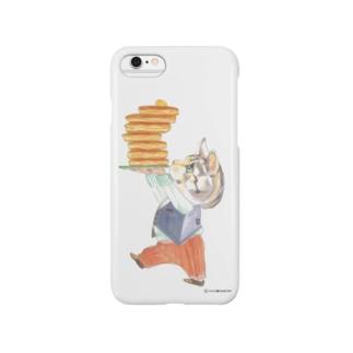 子猫とホットケーキ Smartphone cases