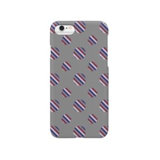 Polka Dots(Vintage Tricolor) Smartphone cases