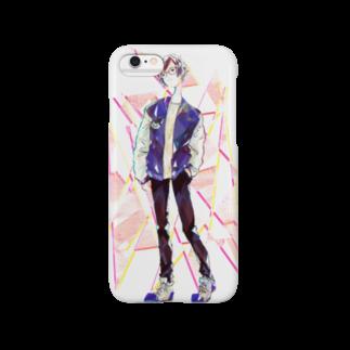 眠田ねむ蔵の春 Smartphone cases