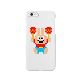 マラカスうさぎさん Smartphone cases