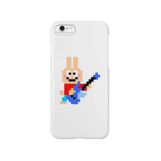 ギター大好きうさぎさん Smartphone cases