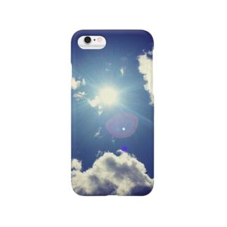 ブルースカイ Smartphone cases