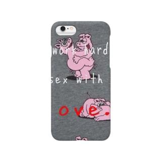 愛のあるsexに性を出せ!! Smartphone cases
