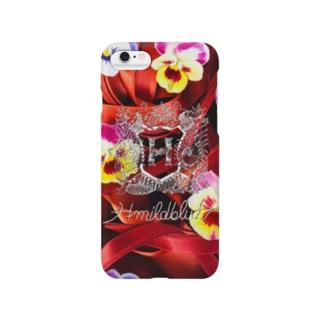 ②リボンの赤毛 Smartphone cases