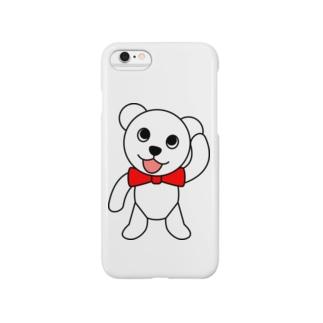 しろくまペロちゃんのスマホケース Smartphone cases