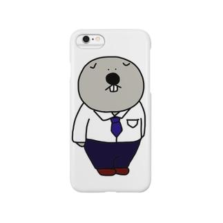 ウォンバット〜会社員ver.〜 Smartphone cases