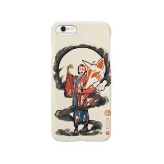 スマートフォンケース「幻空堂店主図」 Smartphone cases