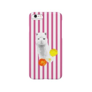 アルパカ【NAYO-SMP-ALPACA1】 Smartphone cases
