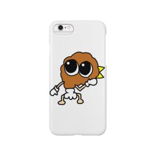 フライド君 Smartphone cases