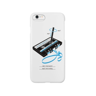 cassette tape & pencil Smartphone cases