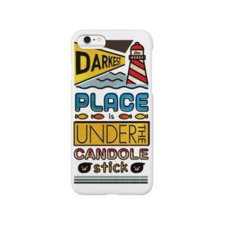 灯台下暗し Smartphone cases