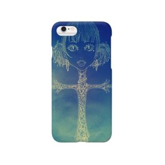 ブルー Smartphone cases