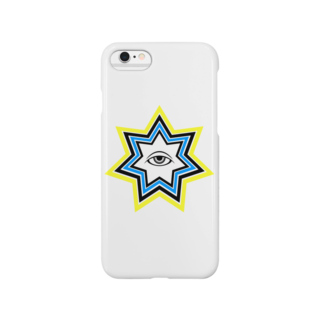 呪術と魔法の銀孔雀の明けの明星スマートフォンケース