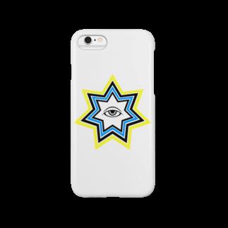 呪術と魔法の銀孔雀の明けの明星 スマートフォンケース