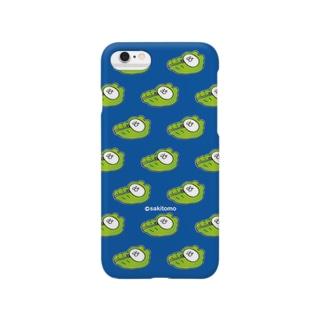 しろ丸-寝袋- Smartphone cases