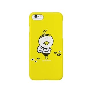 にわ とり男【はち男】 Smartphone cases