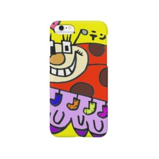 てんとうむしのく Smartphone cases