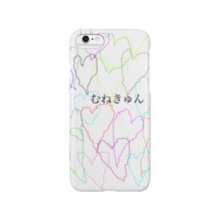 むねきゅん Smartphone cases
