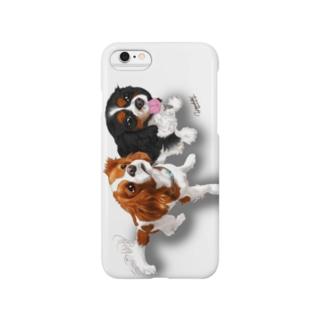 キャバリア№07 ブレンハイム&トライカラー ザク・ライデン Smartphone cases