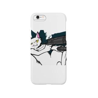 black38のネコ(='x'=) Smartphone cases
