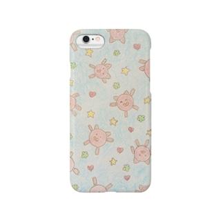 ティムちゃんケース クレヨン Smartphone cases