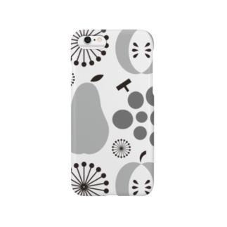 昭和の台所スマフォケース  [その壱](灰) Smartphone cases