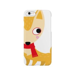 きつねっこ Smartphone cases