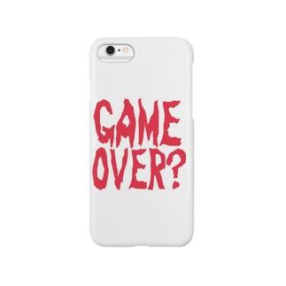 GAME OVER?〜ホラーver〜 スマートフォンケース