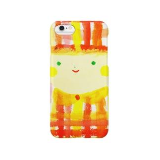 ギンガムチェック姫   Smartphone cases