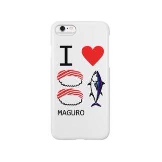 I LOVE マグロ vol.2 Smartphone cases