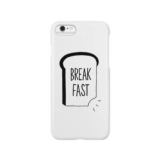 MINA YAMAGIWAのBREAK FAST Smartphone cases