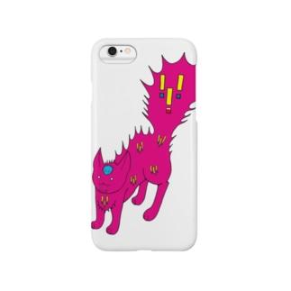 びっくりねこ(='x'=) Smartphone cases