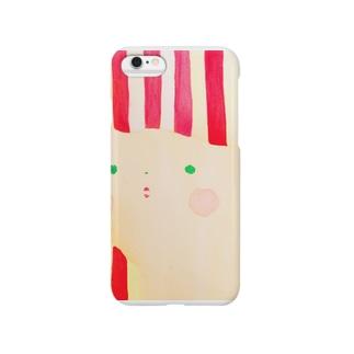 🔴紅白ちゃん⚪️ Smartphone cases