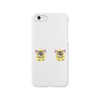 ほのぼの羊 Smartphone cases